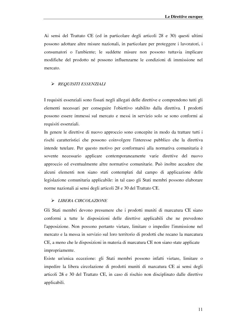 Anteprima della tesi: analisi e applicazione della direttiva R&TTE in un laboratorio di certficazione, Pagina 11