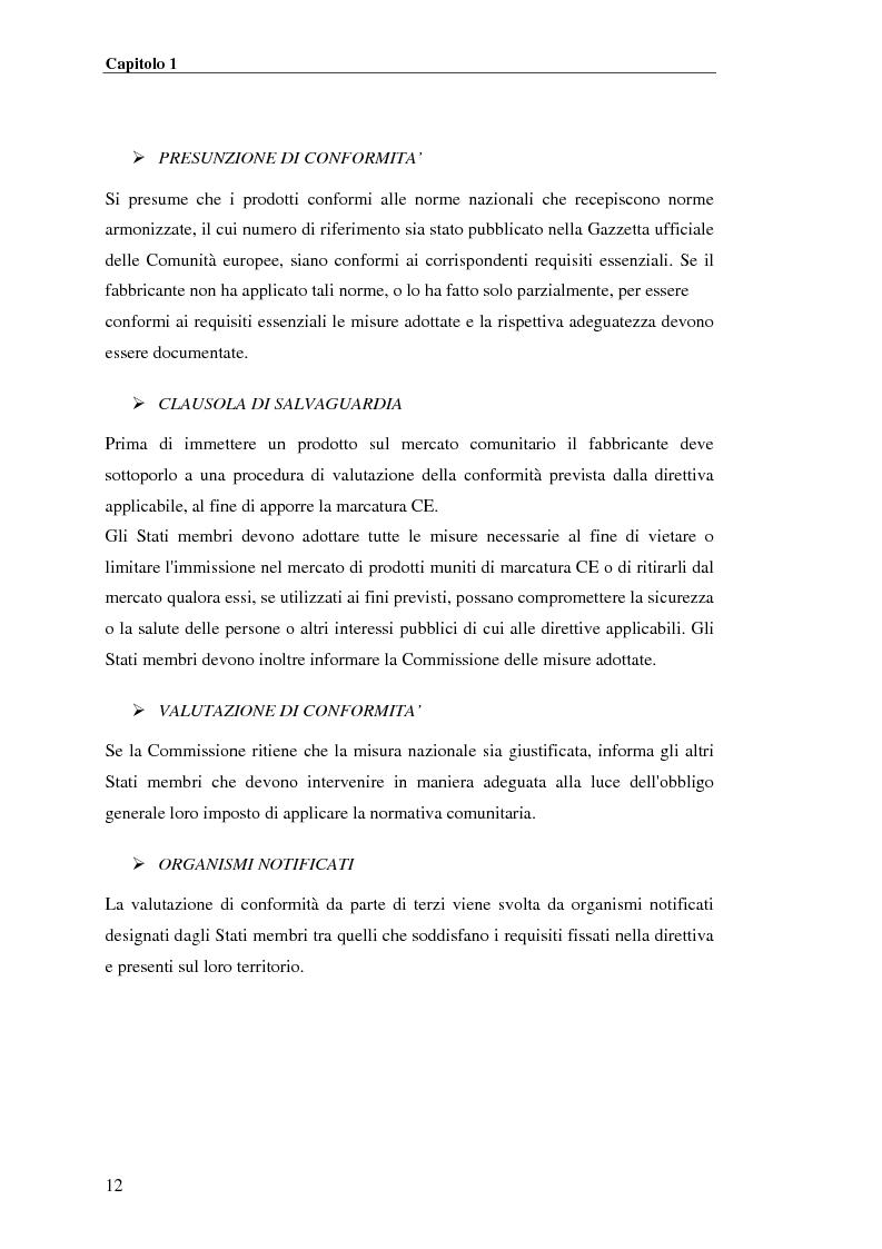 Anteprima della tesi: analisi e applicazione della direttiva R&TTE in un laboratorio di certficazione, Pagina 12