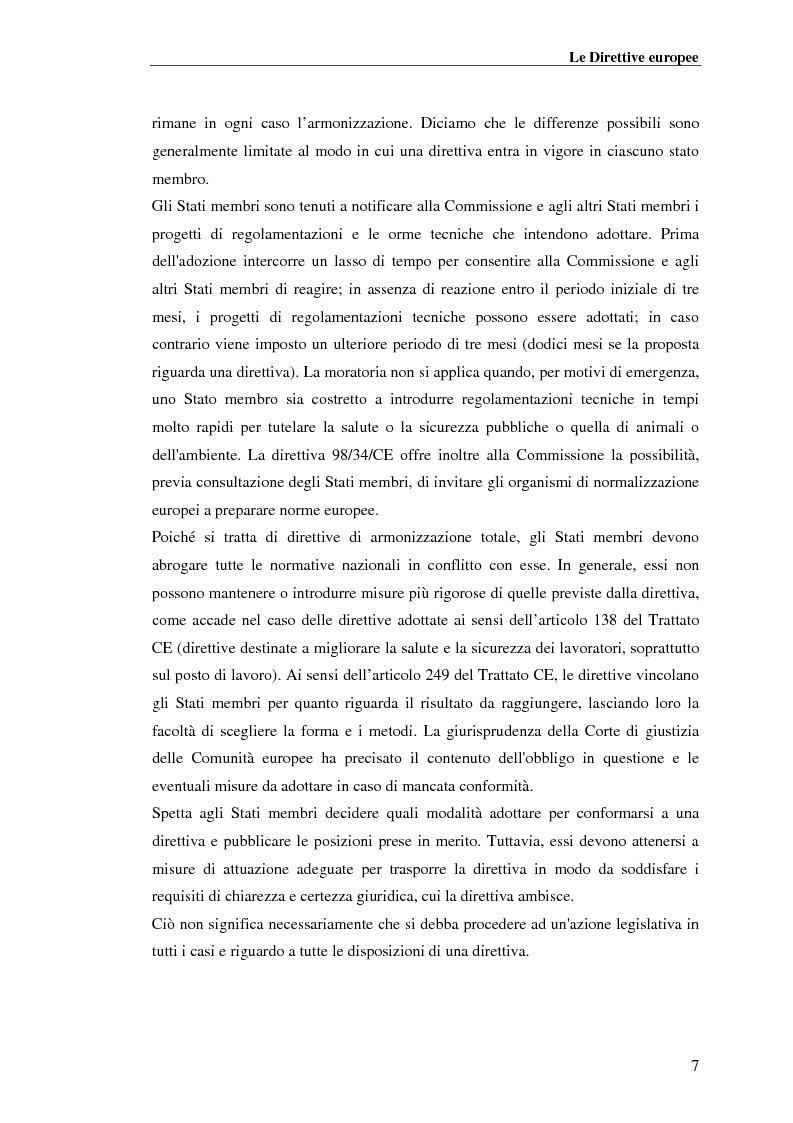 Anteprima della tesi: analisi e applicazione della direttiva R&TTE in un laboratorio di certficazione, Pagina 7