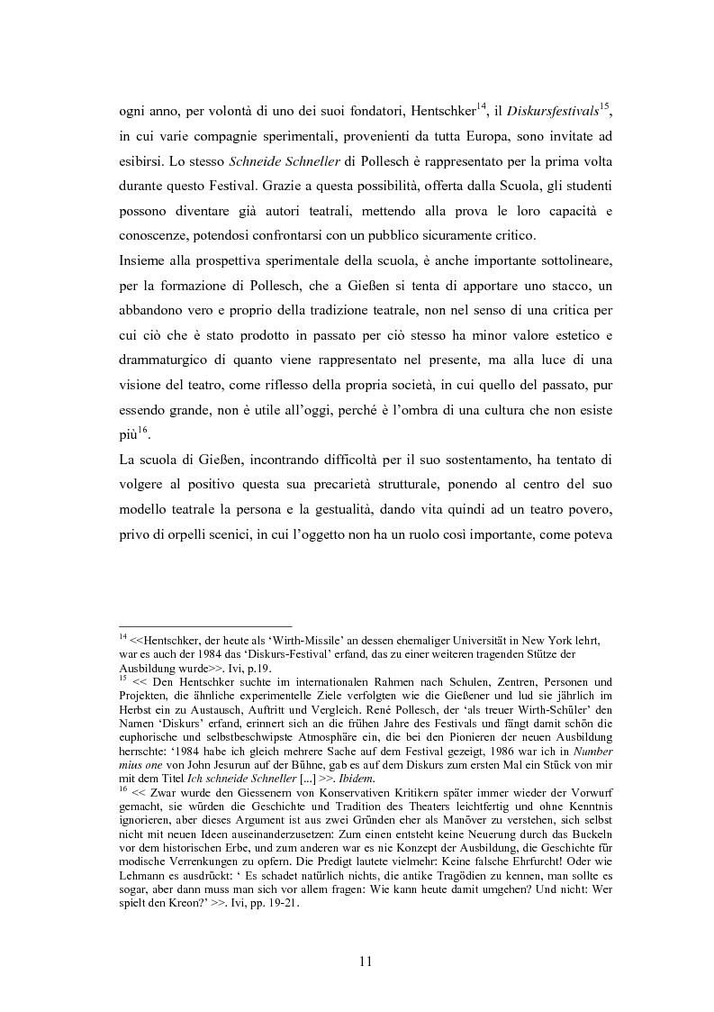 Anteprima della tesi: René Pollesch, Pagina 11