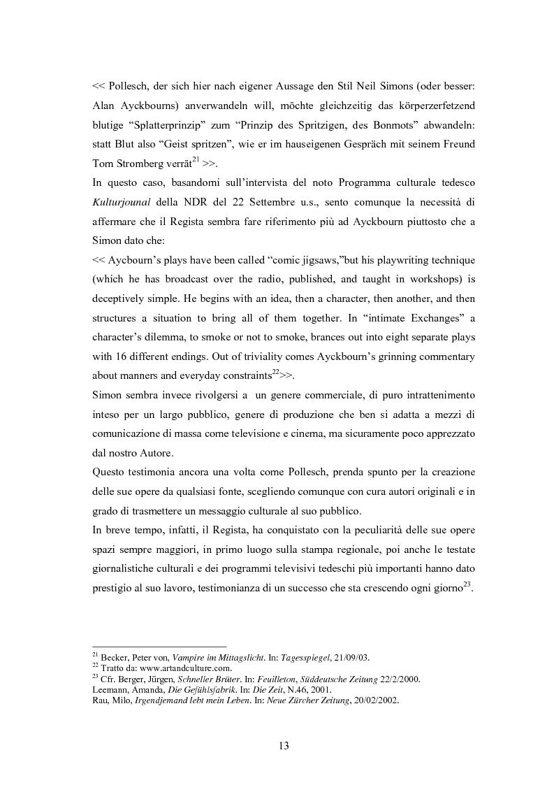 Anteprima della tesi: René Pollesch, Pagina 13