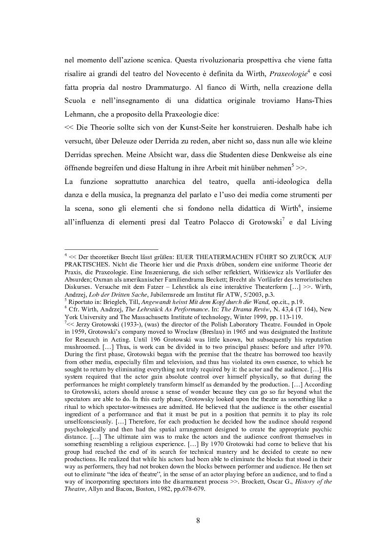 Anteprima della tesi: René Pollesch, Pagina 8