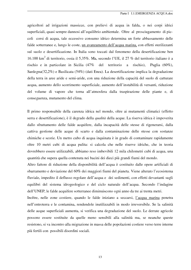Anteprima della tesi: Modellizzazione Numerica dell'Intrusione Salina nell'Acquifero Costiero del Fiume Cecina, Pagina 13