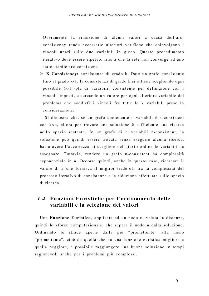 Anteprima della tesi: Determinazione del vincitore nelle aste combinatorie: un approccio a vincoli, Pagina 10