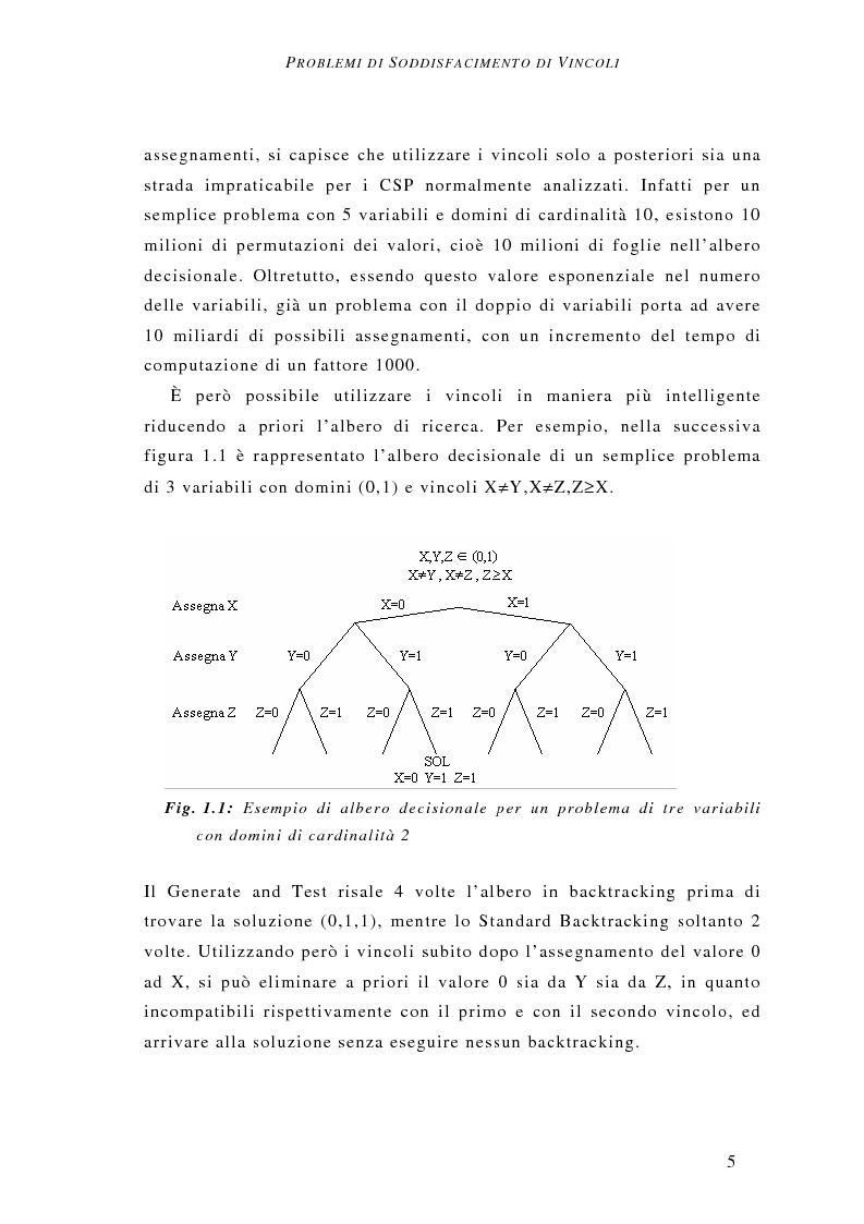 Anteprima della tesi: Determinazione del vincitore nelle aste combinatorie: un approccio a vincoli, Pagina 6