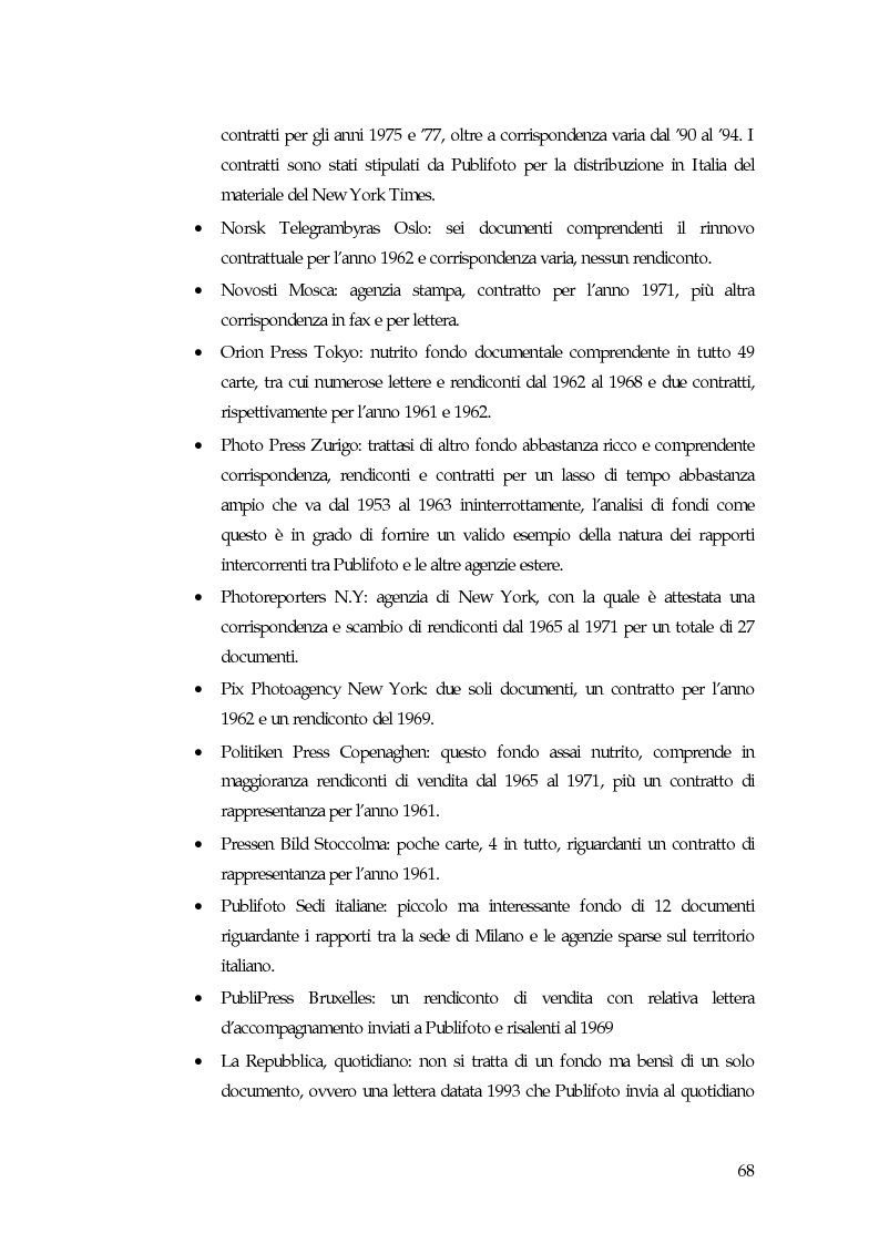 Anteprima della tesi: L'avventura di Vincenzo Carrese e di PUBLIFOTO, le carte del Fondo Ferdinando Carrese (1952-1980)., Pagina 6