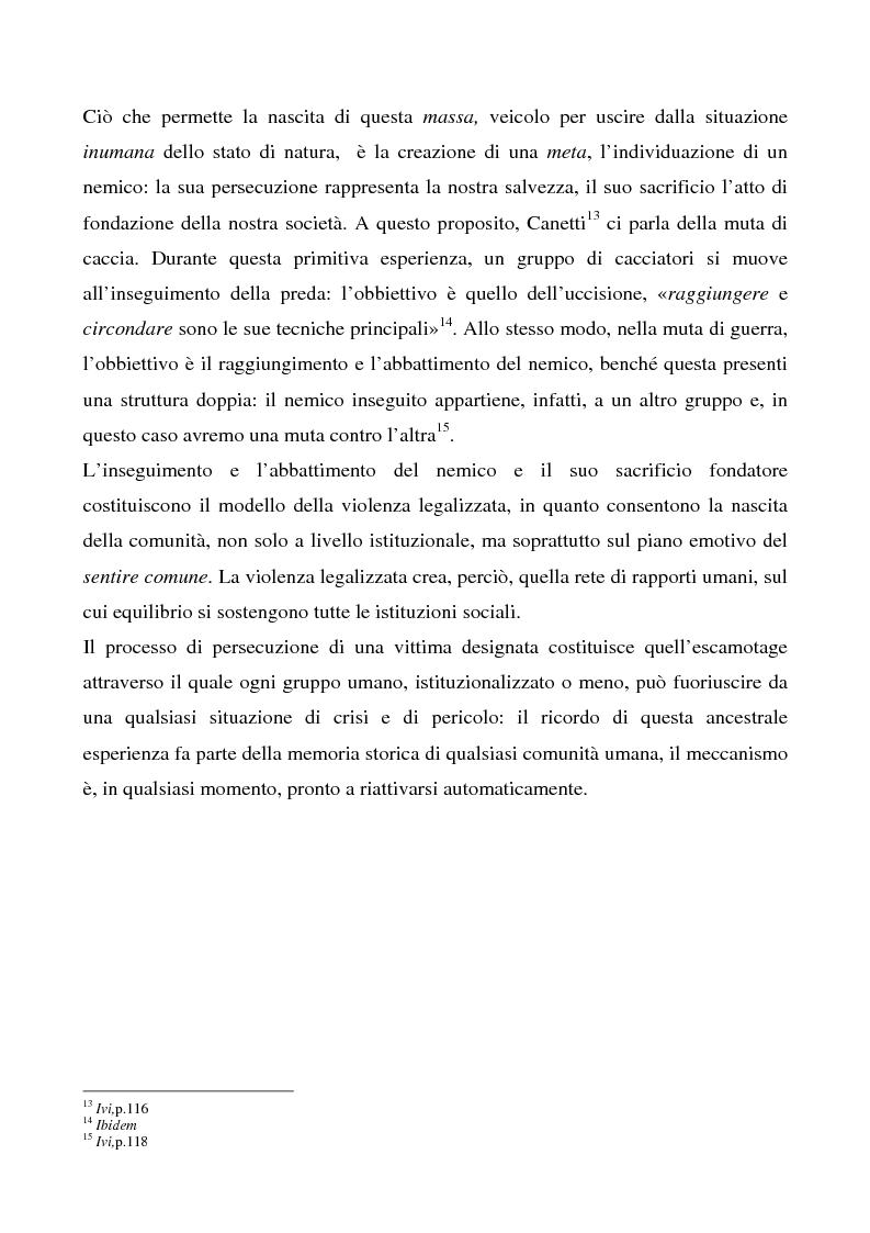 Anteprima della tesi: Lo spettacolo della morte e i suoi aspetti politici, Pagina 10