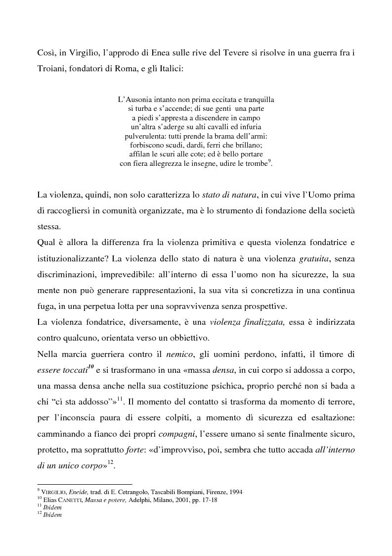 Anteprima della tesi: Lo spettacolo della morte e i suoi aspetti politici, Pagina 9