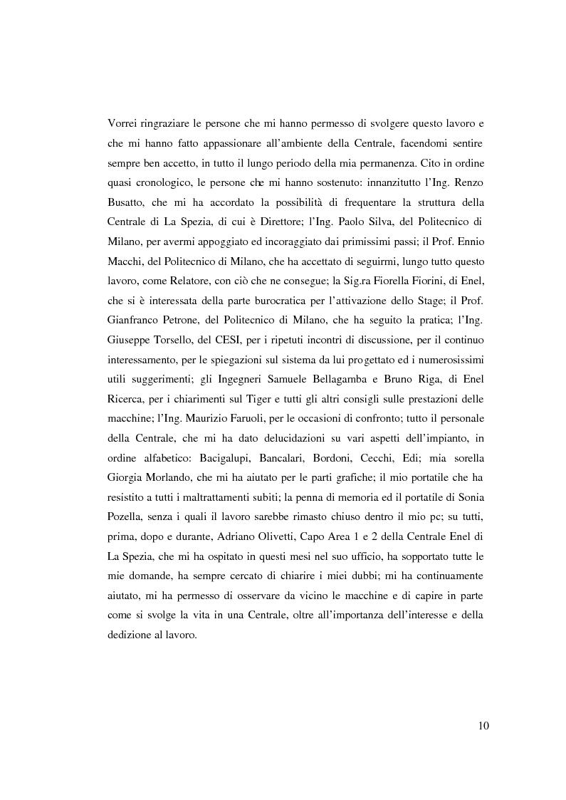 Anteprima della tesi: Valutazione tecnico economica di un sistema di raffreddamento ad iniezione d'acqua di una turbina a gas in un ciclo combinato, Pagina 4