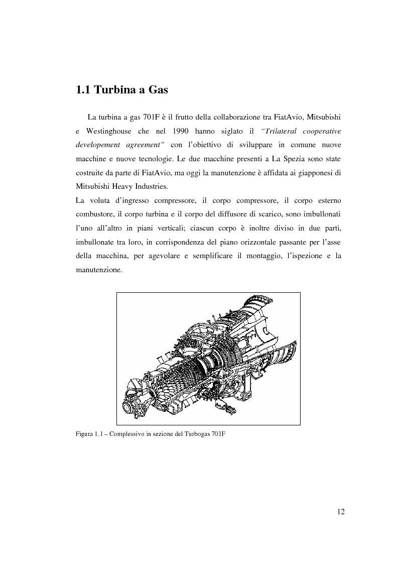 Anteprima della tesi: Valutazione tecnico economica di un sistema di raffreddamento ad iniezione d'acqua di una turbina a gas in un ciclo combinato, Pagina 6