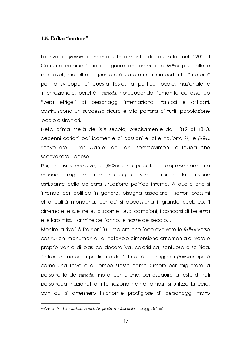 Anteprima della tesi: Las fallas. Fuoco rituale, Pagina 13
