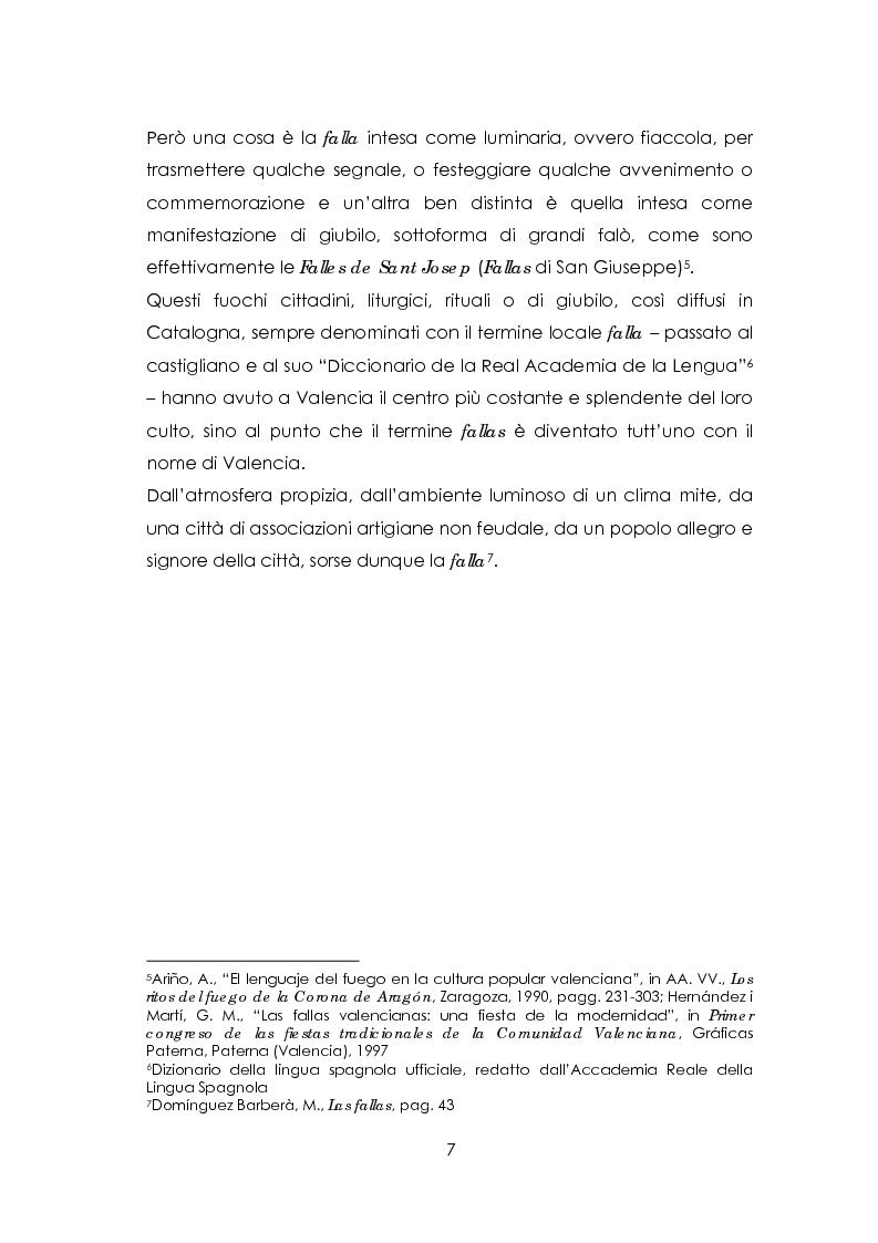 Anteprima della tesi: Las fallas. Fuoco rituale, Pagina 3