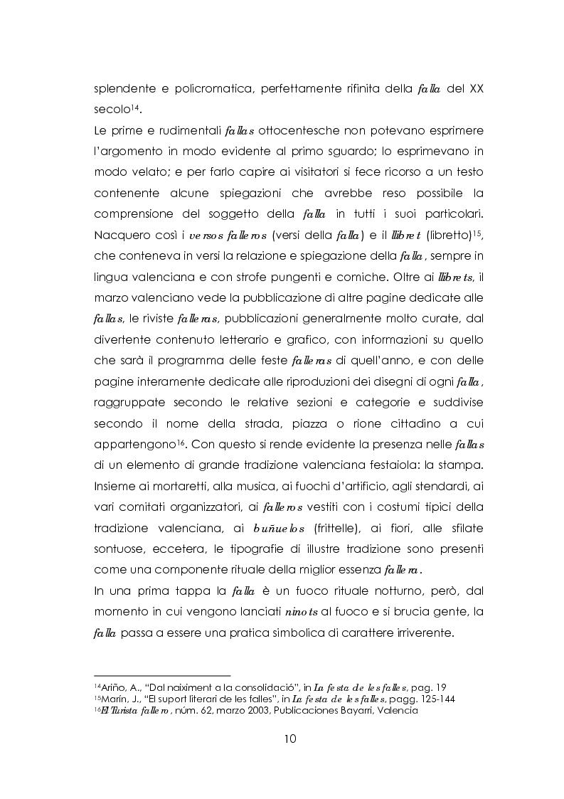 Anteprima della tesi: Las fallas. Fuoco rituale, Pagina 6