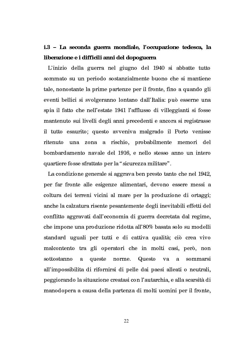 Anteprima della tesi: Un centro calzaturiero delle Marche: Porto Sant'Elpidio dal secondo dopoguerra ad oggi, Pagina 12