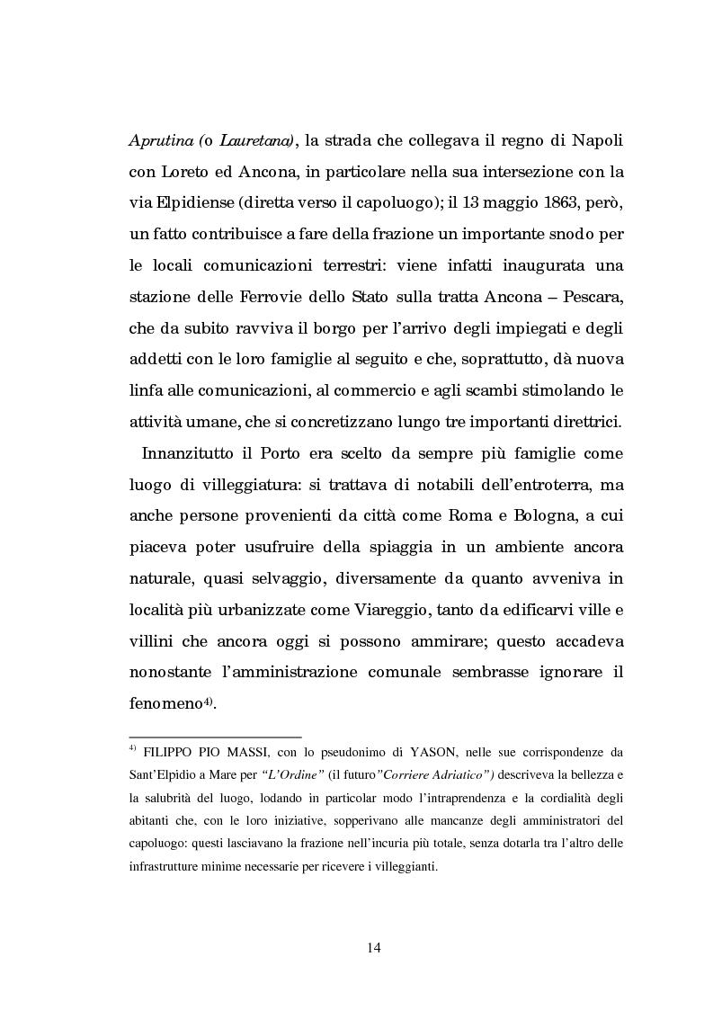 Anteprima della tesi: Un centro calzaturiero delle Marche: Porto Sant'Elpidio dal secondo dopoguerra ad oggi, Pagina 4