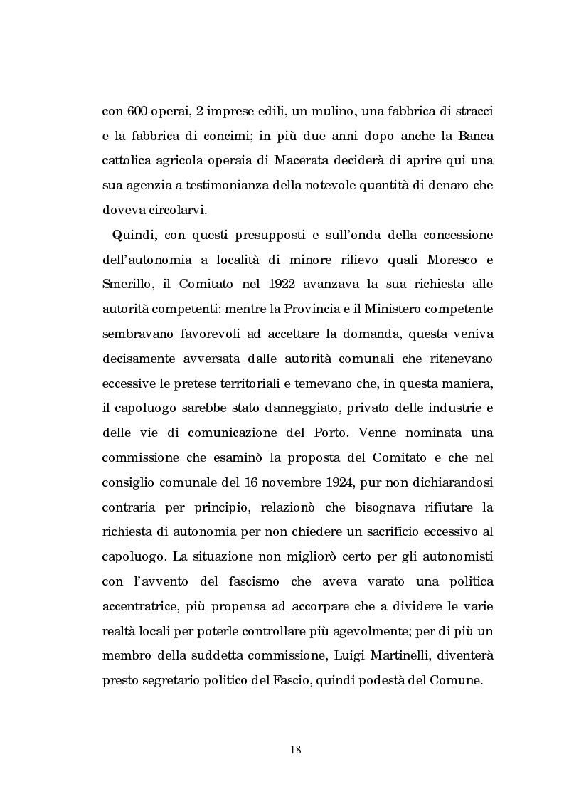 Anteprima della tesi: Un centro calzaturiero delle Marche: Porto Sant'Elpidio dal secondo dopoguerra ad oggi, Pagina 8