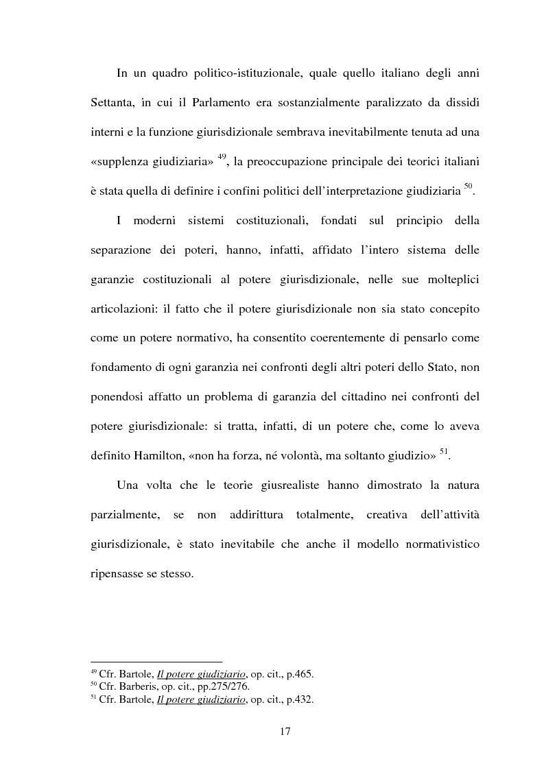 Anteprima della tesi: La Giustificazione. Motivazione e argomentazione nelle decisioni giudiziarie, Pagina 14
