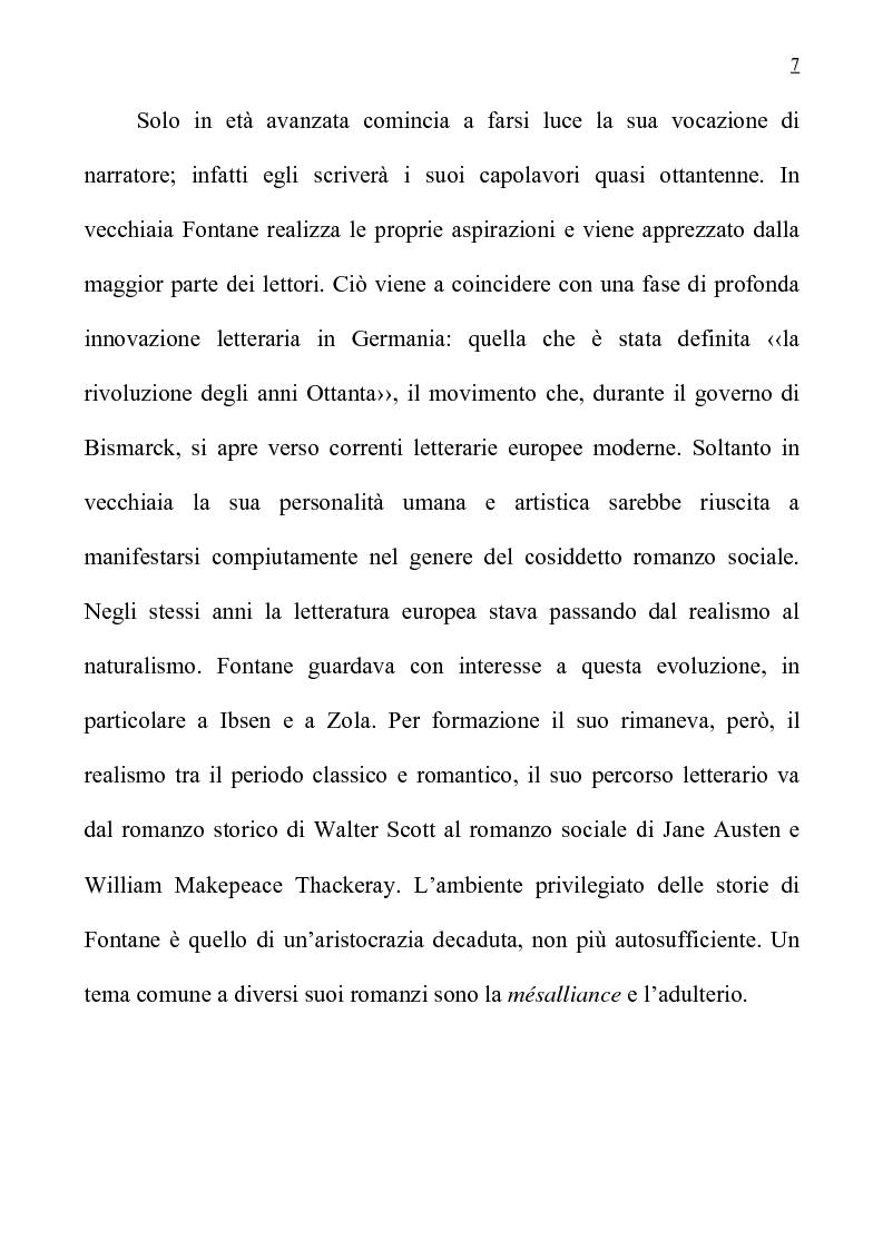 """Anteprima della tesi: L'anglofilia nel romanzo tedesco di Fontane """"Frau Jenny Treibel""""., Pagina 2"""