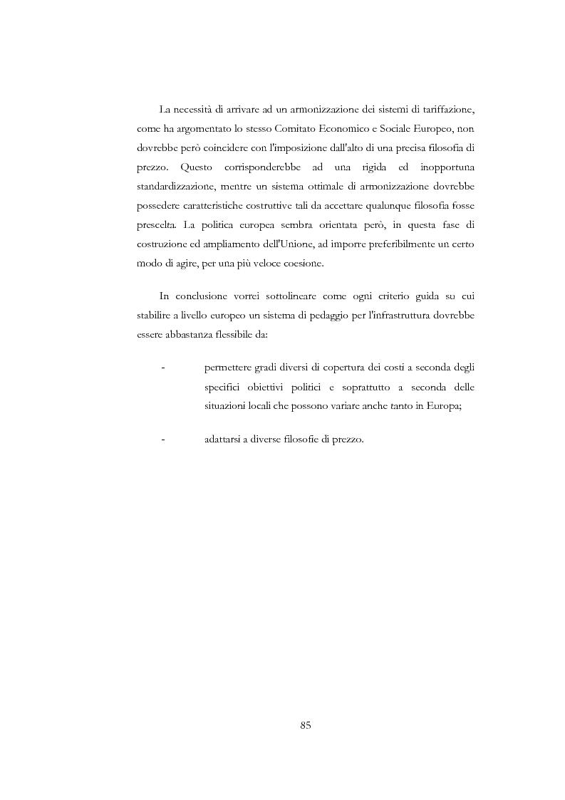 Anteprima della tesi: Il canone di accesso all'infrastruttura ferroviaria: aspetti teorici e applicativi di regolazione, Pagina 4