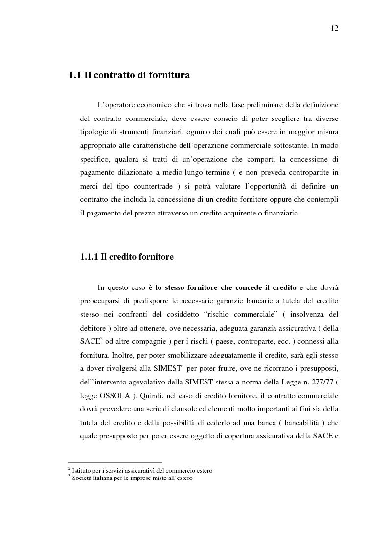 Anteprima della tesi: Strumenti di sostegno all'internazionalizzazione delle imprese: assicurazione e finanziamento agevolati, Pagina 8