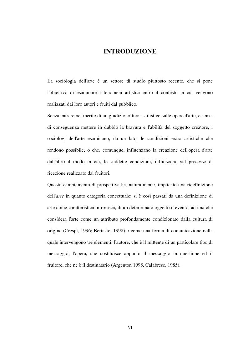 Anteprima della tesi: «Impressionisti. Da Corot a Renoir»: uno studio sul pubblico della mostra sugli impressionisti di Brescia, Pagina 1