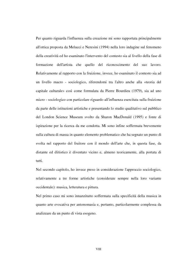 Anteprima della tesi: «Impressionisti. Da Corot a Renoir»: uno studio sul pubblico della mostra sugli impressionisti di Brescia, Pagina 3