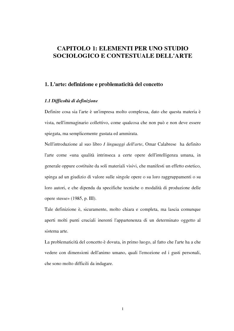 Anteprima della tesi: «Impressionisti. Da Corot a Renoir»: uno studio sul pubblico della mostra sugli impressionisti di Brescia, Pagina 7