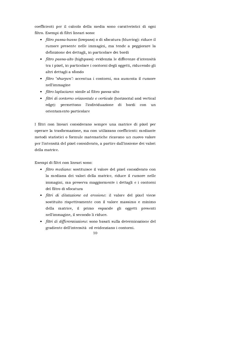 Anteprima della tesi: L'interpretazione teorica dei filtri morfologici nell'elaborazione delle immagini, Pagina 3