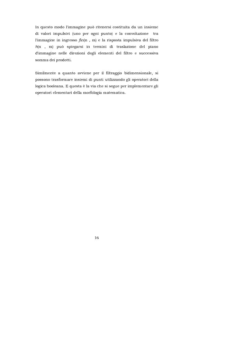 Anteprima della tesi: L'interpretazione teorica dei filtri morfologici nell'elaborazione delle immagini, Pagina 8