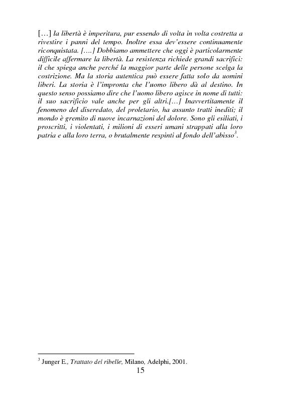 Anteprima della tesi: Rifugiati politici:un popolo in marcia. Percorsi di vita e di speranza da terre lontane a Badolato, Pagina 4