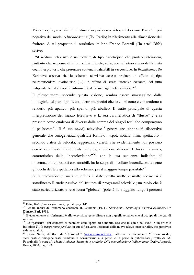 Anteprima della tesi: Indymedia.org: la rete ''intelligente'' del mediattivismo globale?, Pagina 11