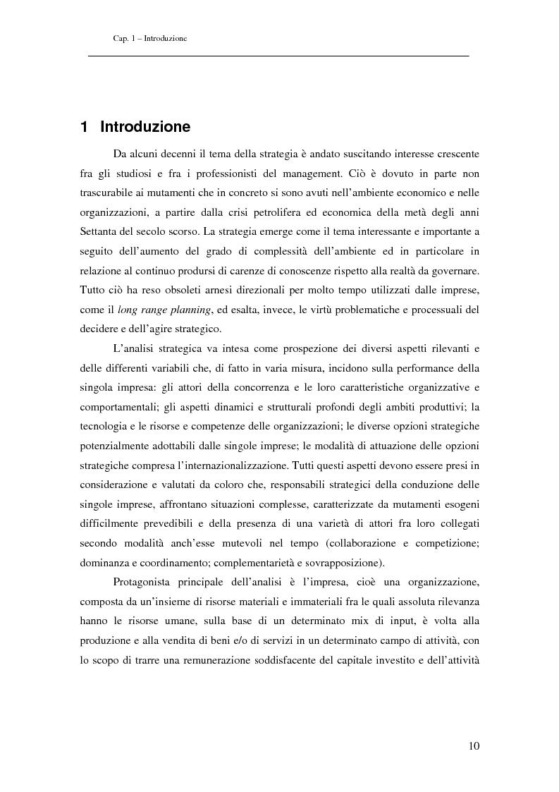 Anteprima della tesi: Analisi di Strategie di Business. Il Caso ENEL, Pagina 1