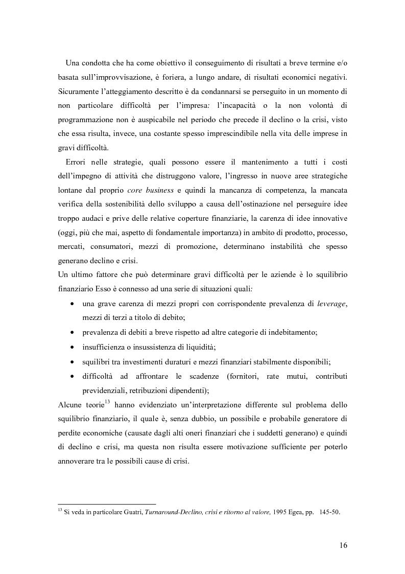 Anteprima della tesi: Crisi e ristrutturazione d'impresa: il caso Gandalf Airlines, Pagina 13