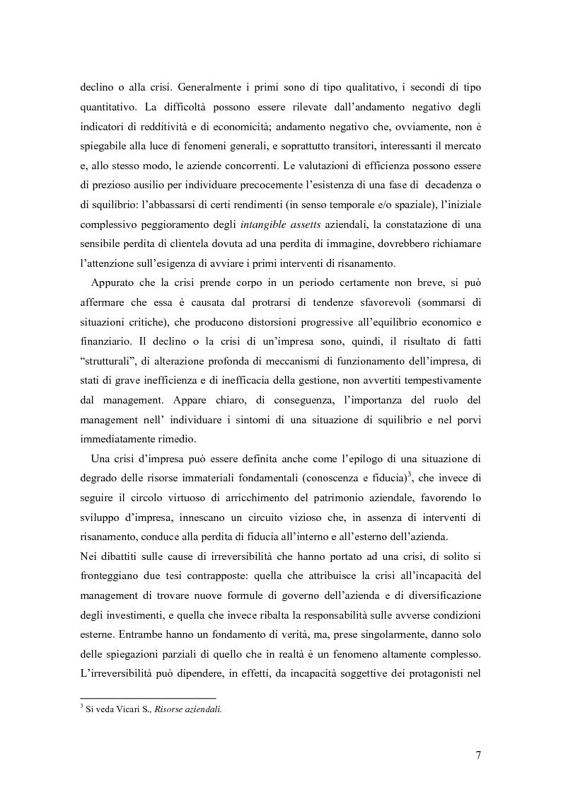 Anteprima della tesi: Crisi e ristrutturazione d'impresa: il caso Gandalf Airlines, Pagina 4