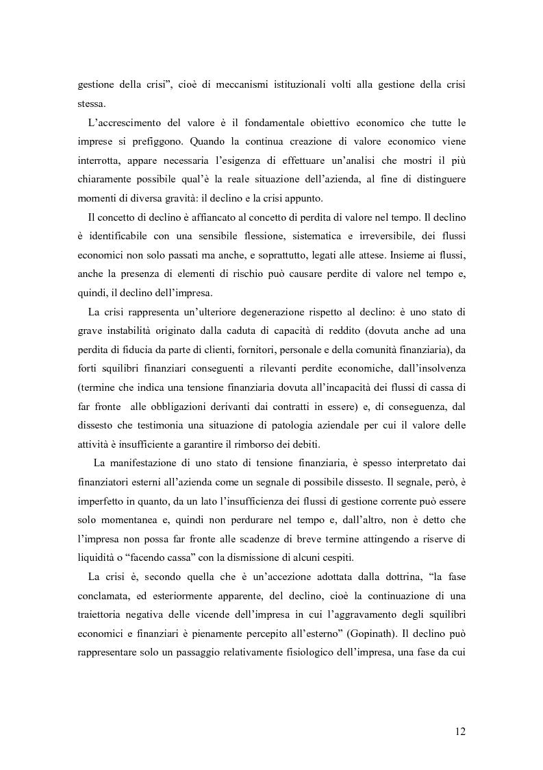 Anteprima della tesi: Crisi e ristrutturazione d'impresa: il caso Gandalf Airlines, Pagina 9
