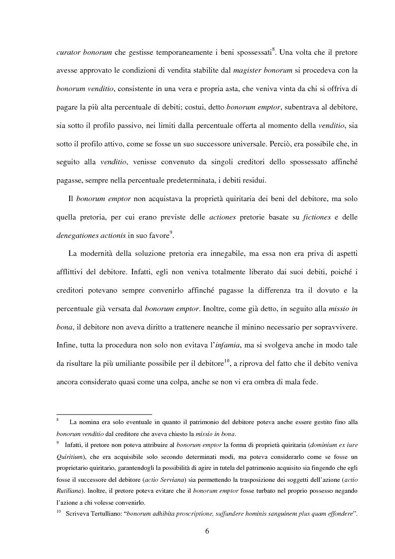 Anteprima della tesi: La bancarotta fraudolenta impropria, Pagina 6