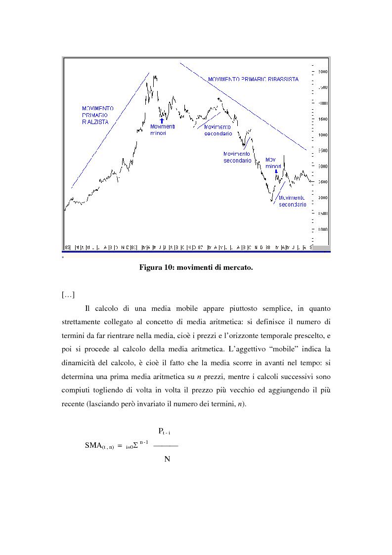 Anteprima della tesi: Il mercato azionario italiano: efficienza e anomalie, Pagina 11