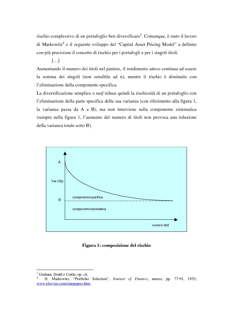 Anteprima della tesi: Il mercato azionario italiano: efficienza e anomalie, Pagina 2