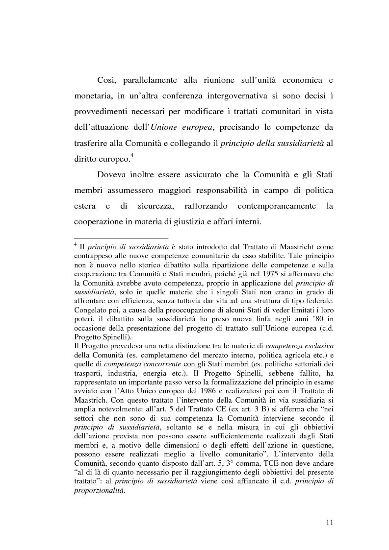 Anteprima della tesi: Diritto comunitario e diritto penale: la domanda di tutela comunitaria e l'offerta nazionale, Pagina 3