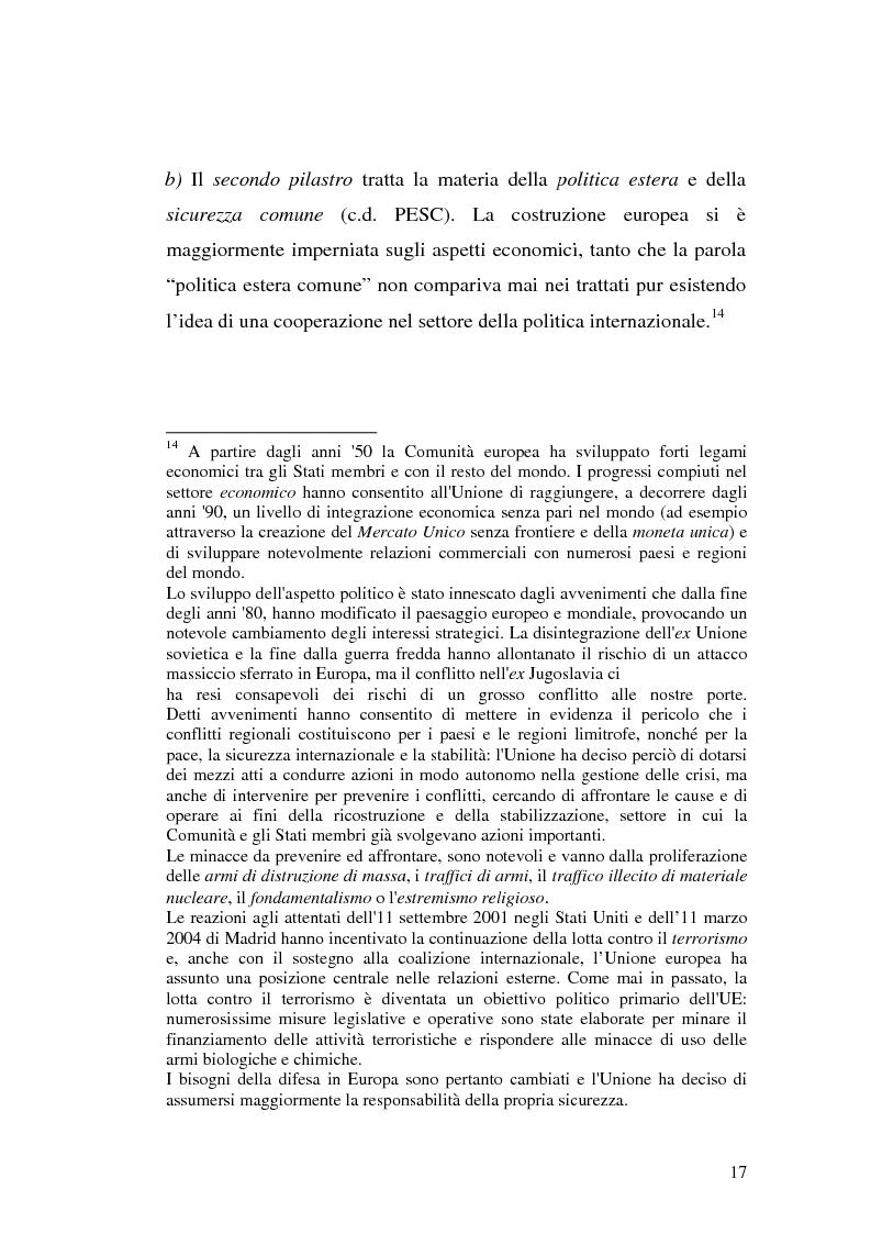 Anteprima della tesi: Diritto comunitario e diritto penale: la domanda di tutela comunitaria e l'offerta nazionale, Pagina 9