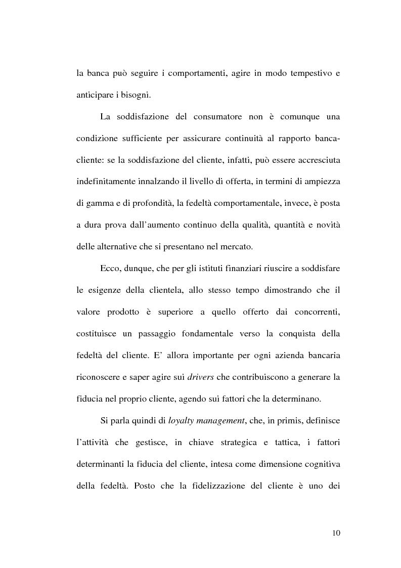 Anteprima della tesi: La banca multicanale e il CRM, Pagina 4