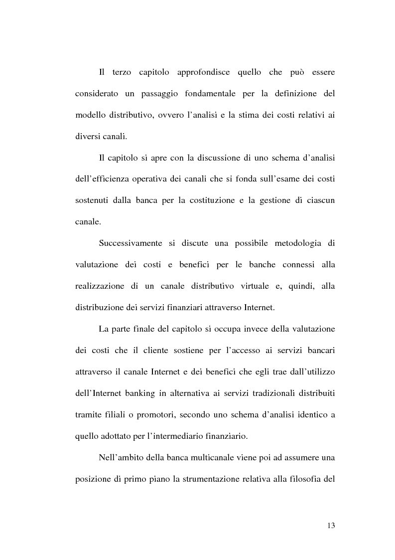 Anteprima della tesi: La banca multicanale e il CRM, Pagina 7