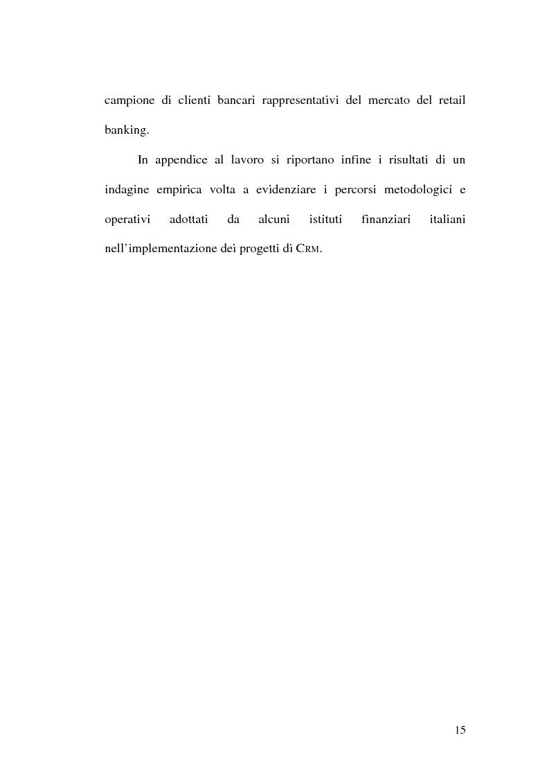 Anteprima della tesi: La banca multicanale e il CRM, Pagina 9