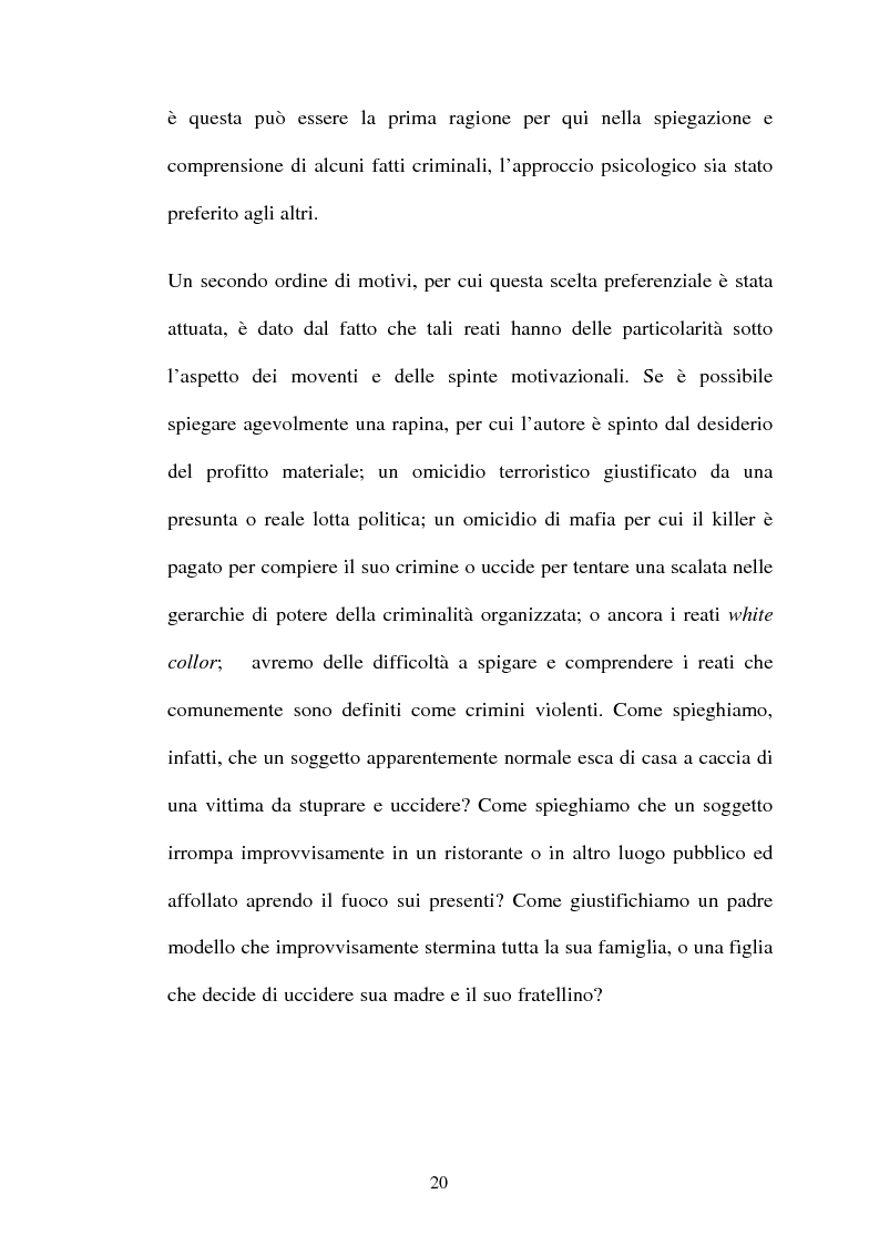 Anteprima della tesi: ''L'indole particolarmente malvagia'' del reo, Pagina 15