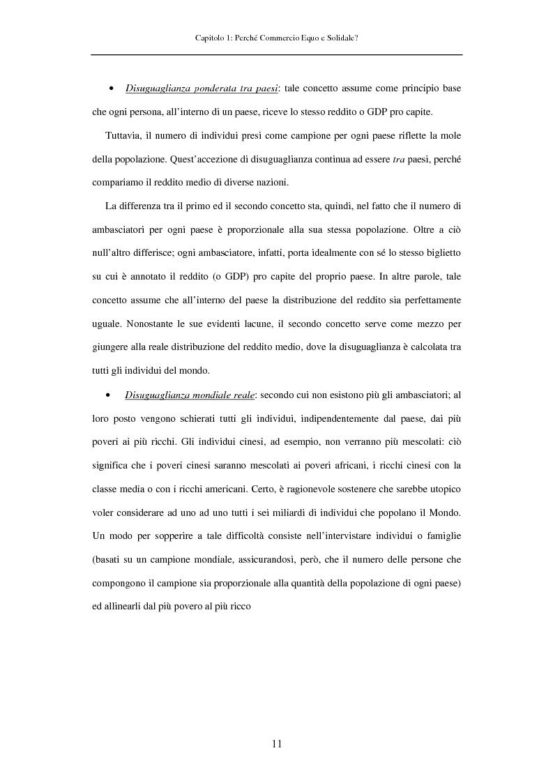 Anteprima della tesi: Struttura e mercato del Commercio Equo e Solidale, Pagina 11
