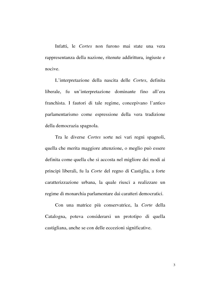 Anteprima della tesi: Il Parlamentarismo spagnolo dalla Costituzione di Cadice al Post-franchismo, Pagina 10