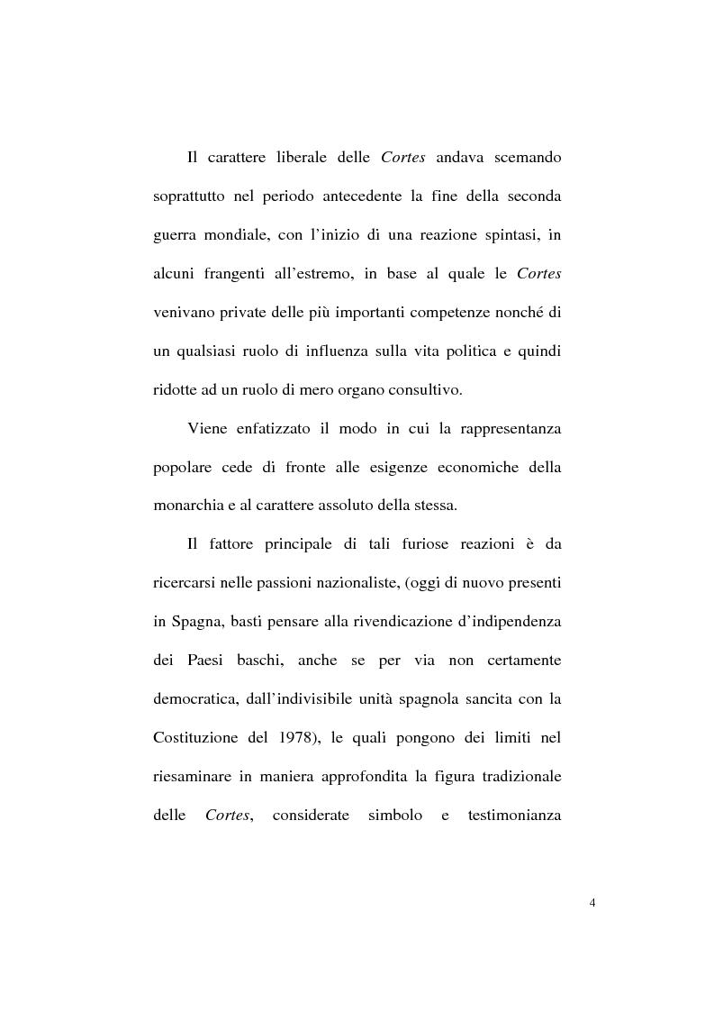 Anteprima della tesi: Il Parlamentarismo spagnolo dalla Costituzione di Cadice al Post-franchismo, Pagina 11