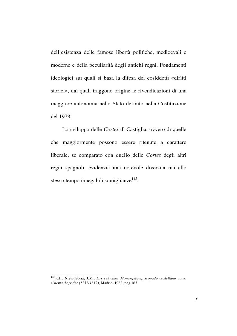 Anteprima della tesi: Il Parlamentarismo spagnolo dalla Costituzione di Cadice al Post-franchismo, Pagina 12