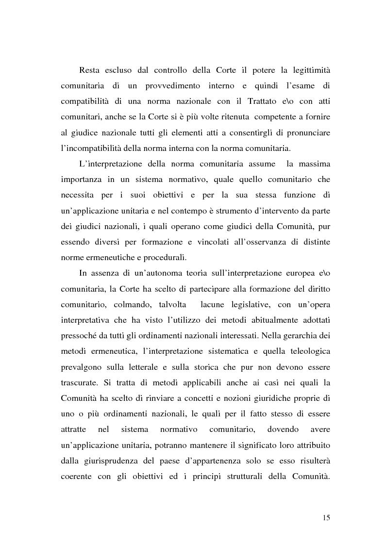 Anteprima della tesi: Le Direttive CE in materia tributaria, Pagina 11