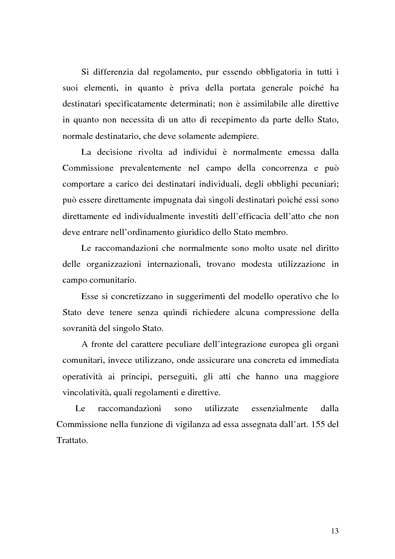 Anteprima della tesi: Le Direttive CE in materia tributaria, Pagina 9
